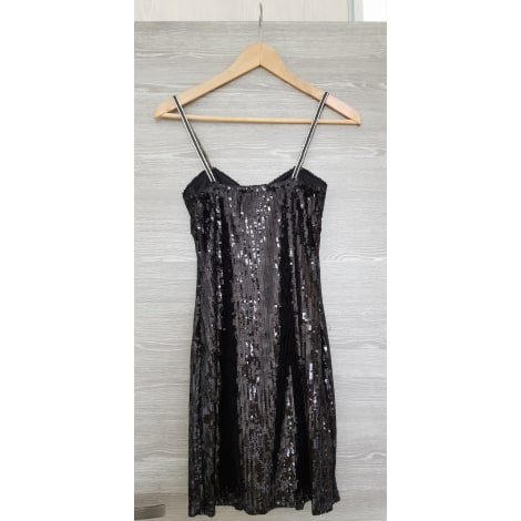 Robe courte FREE FOR HUMANITY Noir