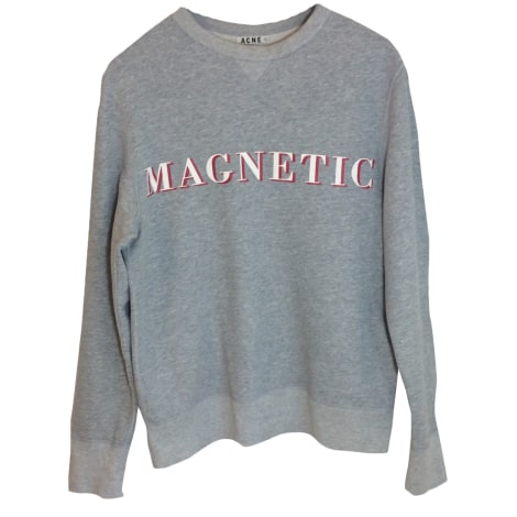 Sweat ACNE Gris, anthracite