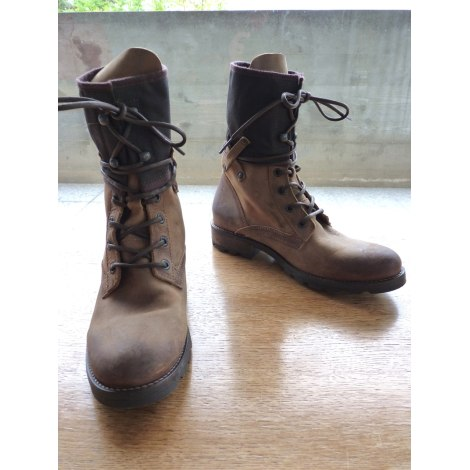 Bottines PALLADIUM Marron