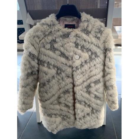 Manteau CATIMINI Blanc, blanc cassé, écru