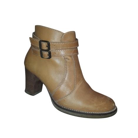 Bottines & low boots à talons SESSUN COGNAC