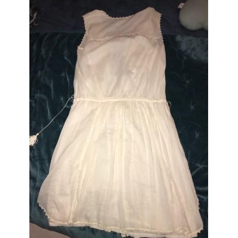 Robe mi-longue ISABEL MARANT ETOILE Blanc, blanc cassé, écru