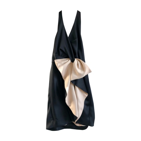 Robe mi-longue HALSTON HERITAGE Noir