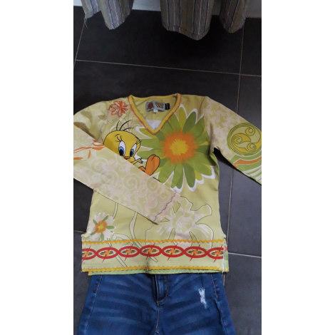 Top, Tee-shirt LOONEY TUNES Jaune