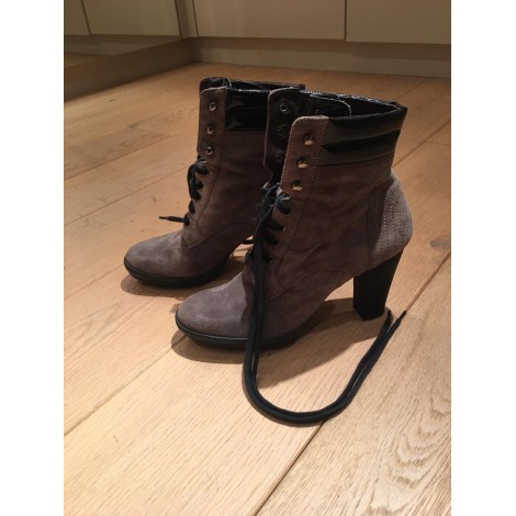 Bottines & low boots à talons TRIVER FLIGHT Marron