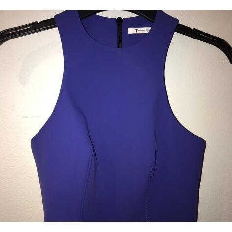 Top, tee-shirt ALEXANDER WANG Bleu, bleu marine, bleu turquoise
