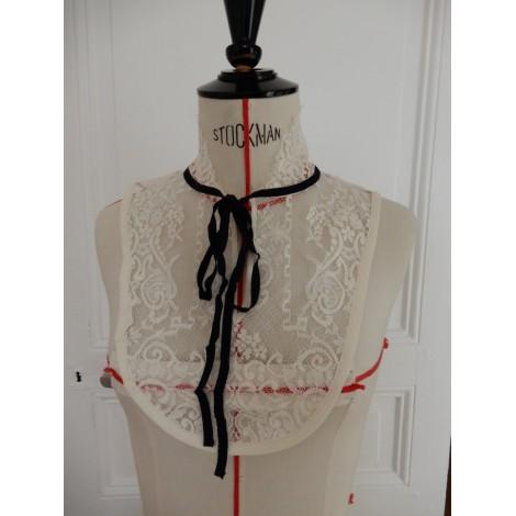 Krawatte IRIS CANTABRI Weiß, elfenbeinfarben