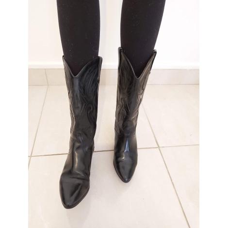Santiags, bottes cowboy BIONDINI Noir