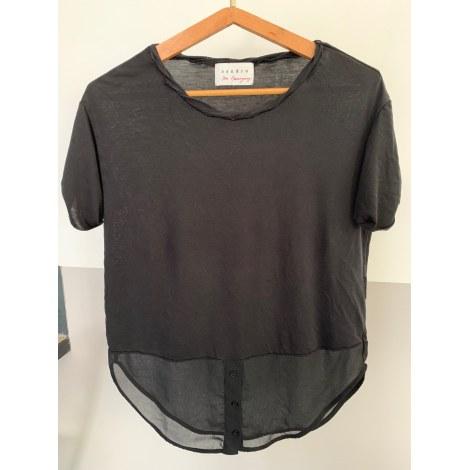 Top, tee-shirt SANDRO Noir