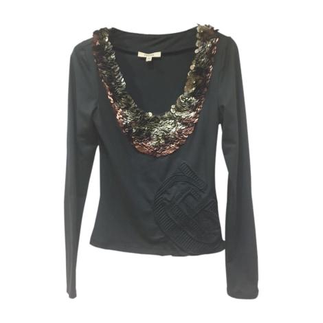 Top, tee-shirt GIANFRANCO FERRE Noir