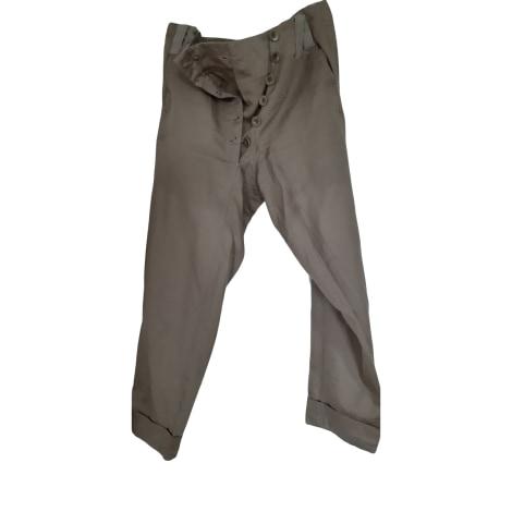 Pantalon slim, cigarette MARITHÉ ET FRANÇOIS GIRBAUD Vert