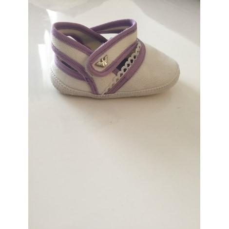 Ballet Flats ARMANI Blanc et lila