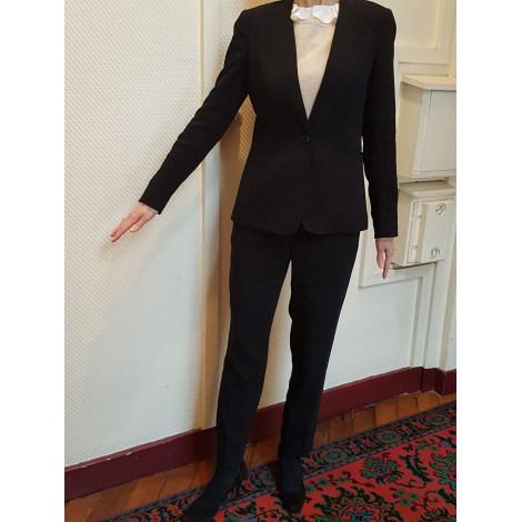 Tailleur pantalon MASSIMO DUTTI Noir