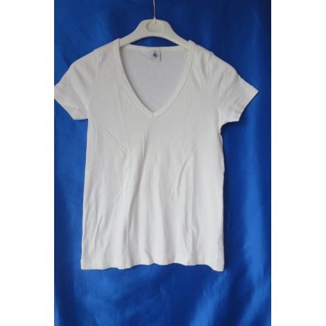 Top, Tee-shirt PETIT BATEAU Blanc, blanc cassé, écru