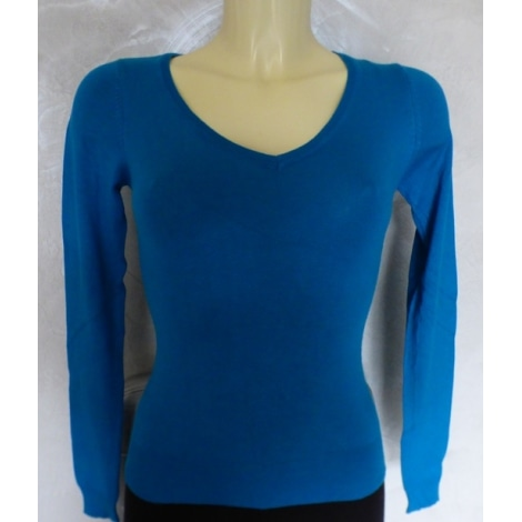 Pull MIM Bleu, bleu marine, bleu turquoise