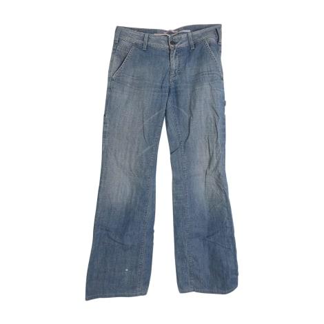Jeans droit VANESSA BRUNO Bleu, bleu marine, bleu turquoise