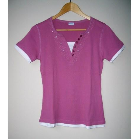 Top, tee-shirt DAMART Rose, fuschia, vieux rose