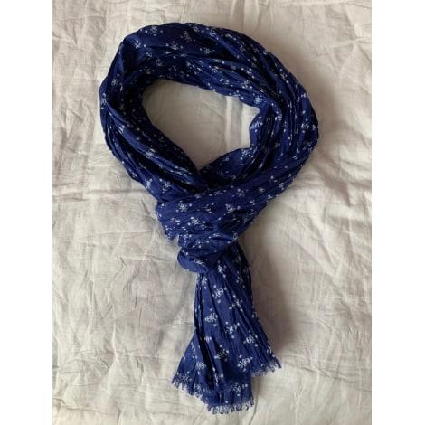 Echarpe PRINTEMPS Bleu, bleu marine, bleu turquoise