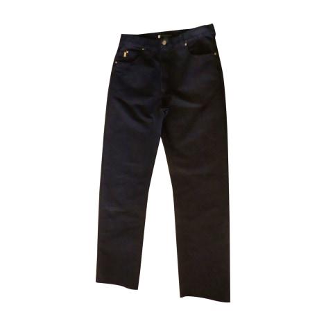 Straight Leg Jeans YVES SAINT LAURENT Blue, navy, turquoise