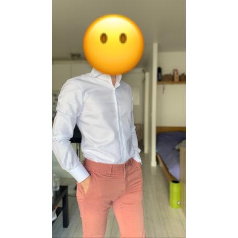 Pantalon slim MASSIMO DUTTI Rose, fuschia, vieux rose