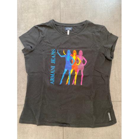 Top, tee-shirt ARMANI Noir