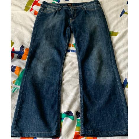 Jeans évasé, boot-cut LEE Bleu, bleu marine, bleu turquoise