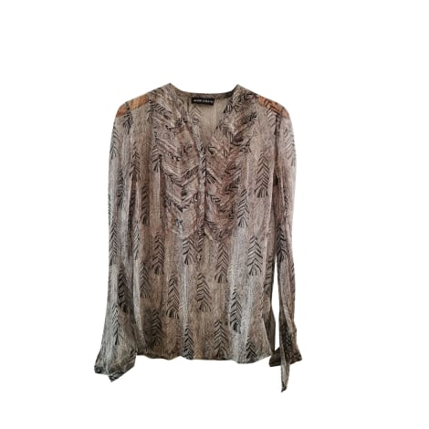 Blouse ANTIK BATIK Gris, anthracite