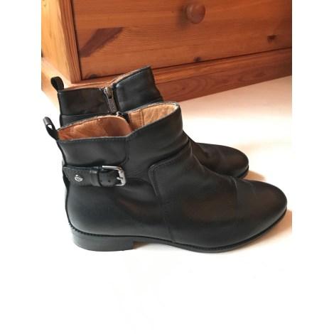 Bottines & low boots plates PIKOLINOS Noir