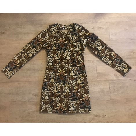 Robe courte ZARA Multicouleur