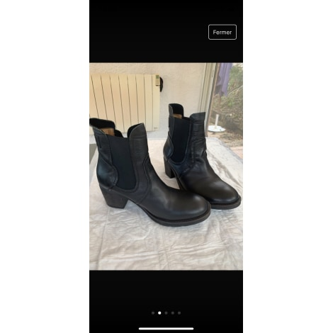 Bottines & low boots plates PALLADIUM Noir