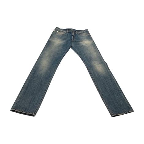 Jeans droit DIOR HOMME Bleu, bleu marine, bleu turquoise