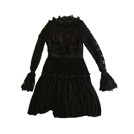 Robe courte SELF PORTRAIT Noir