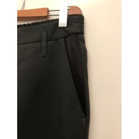 Pantalon droit COMPTOIR DES COTONNIERS Gris, anthracite