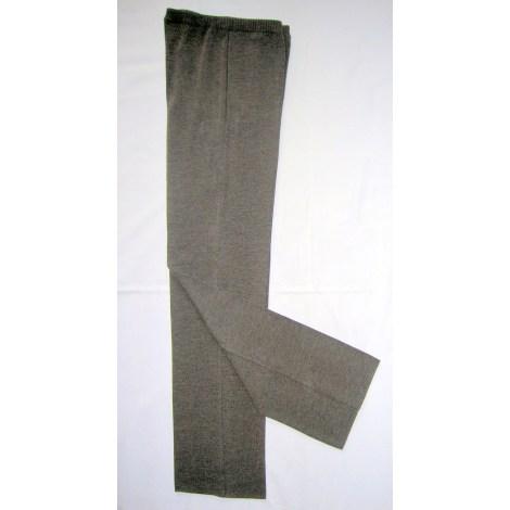 Pantalon droit DEVERNOIS Marron