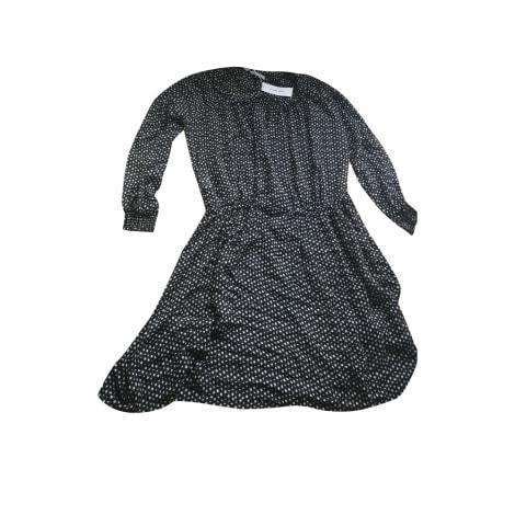 Robe mi-longue GERARD DAREL noir et blanc