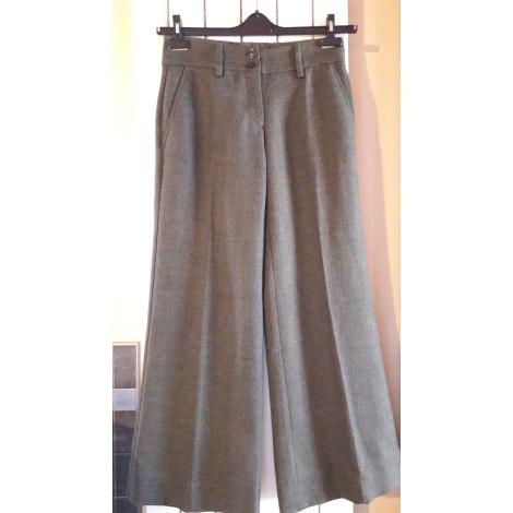 Pantalon large H&M Kaki