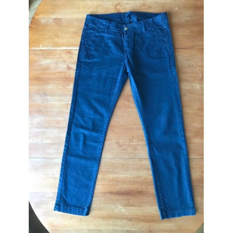 Pantalon droit ACQUAVERDE Bleu, bleu marine, bleu turquoise