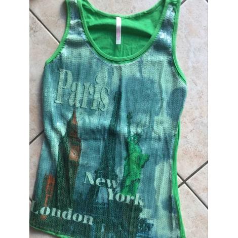 Top, tee-shirt FOREVER Vert