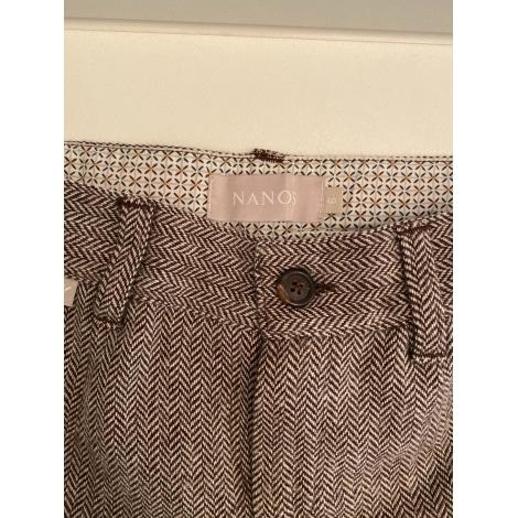 Pantalon NANOS Marron