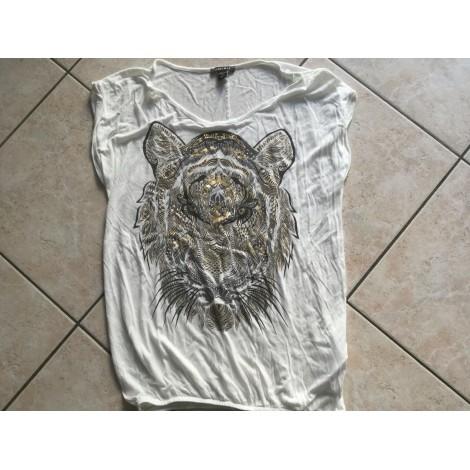 Top, tee-shirt AMISU Blanc, blanc cassé, écru