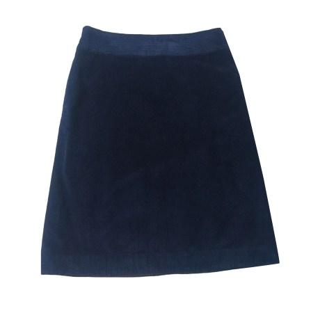 Jupe mi-longue COMPTOIR DES COTONNIERS Bleu, bleu marine, bleu turquoise
