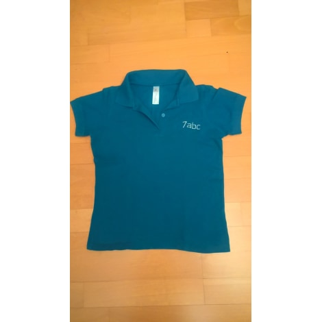 Polo B&C Bleu, bleu marine, bleu turquoise