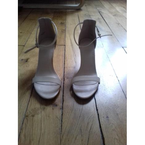 Sandales à talons ASOS Blanc, blanc cassé, écru