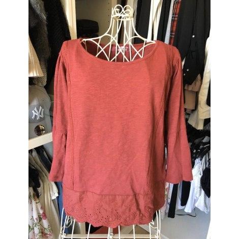 Top, tee-shirt CACHE CACHE Rouge, bordeaux