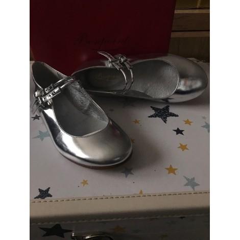 Chaussures à boucle BONPOINT Gris, anthracite