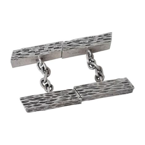Cufflinks HERMÈS Silver
