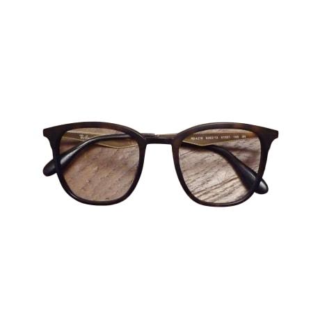 Monture de lunettes RAY-BAN Marron