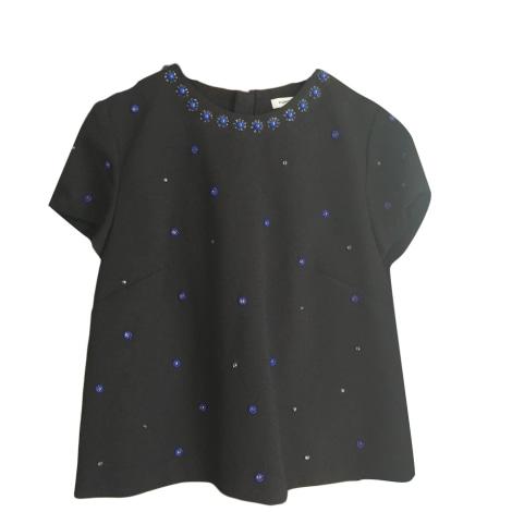 Top, tee-shirt MANOUSH Noir