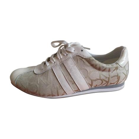 Chaussures à lacets  CALVIN KLEIN Blanc, blanc cassé, écru