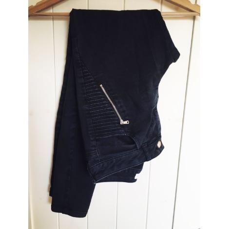 Jeans slim ZARA Noir